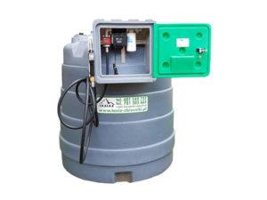 Zbiornik jednopłaszczowy 2500 litrów