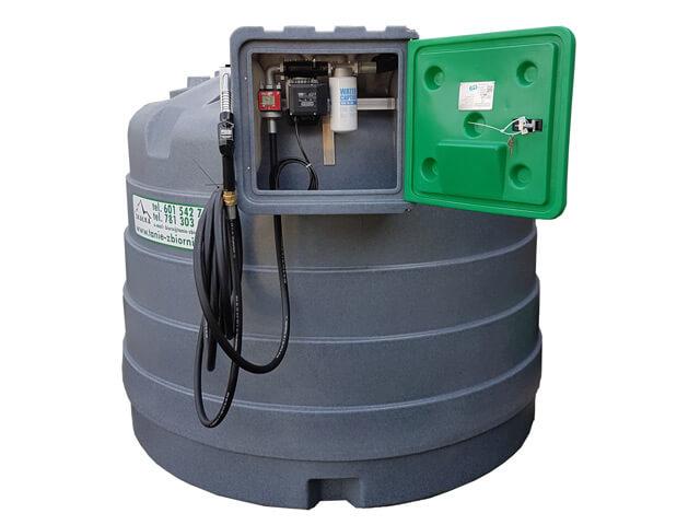 Zbiornik jednopłaszczowy 5000 litrów